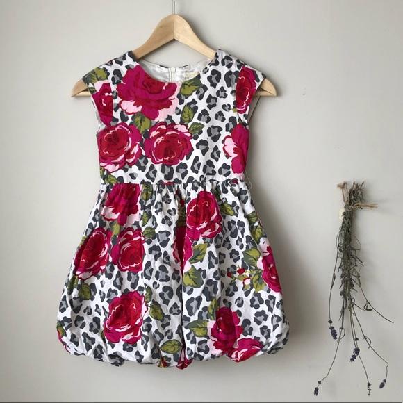 Children's Place | Floral Bubble Skirt Dress